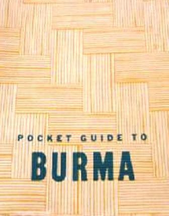 A Pocket Guide To Burma Cbi Theater Of World War Ii