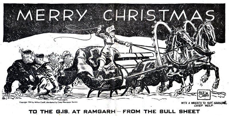 a merry christmas 1944 - Christmas Bombings